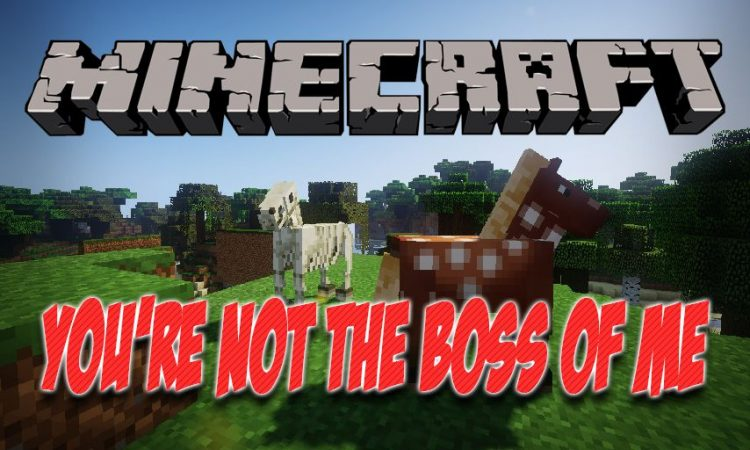 You're Not the Boss of Me Mod 1 12 2 (Untamable Mobs for Minecraft