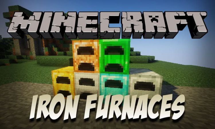 pizzaatime_s Iron Furnaces mod for Minecraft logo