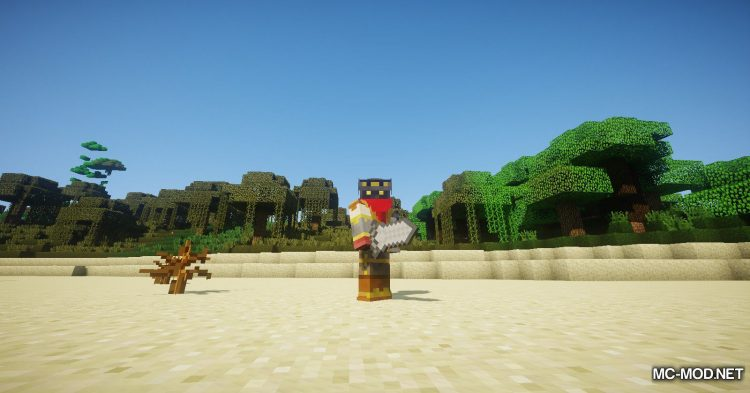 Asgard Weapons mod for Minecraft (6)