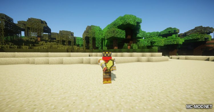 Asgard Weapons mod for Minecraft (7)