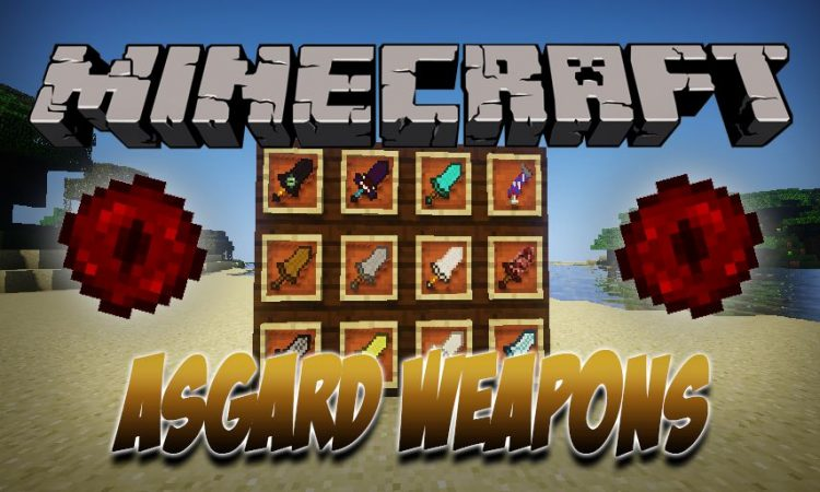 Asgard Weapons mod for Minecraft logo