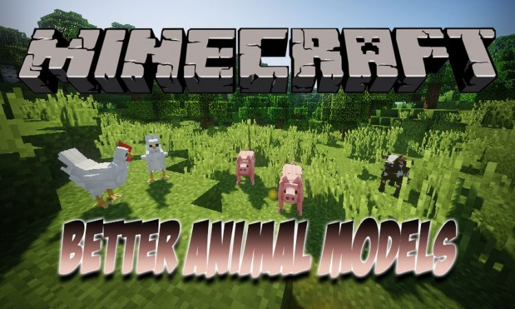 Better Animal Models mod for Minecraft logo