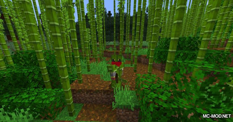 BetterBamboo mod for Minecraft (11)