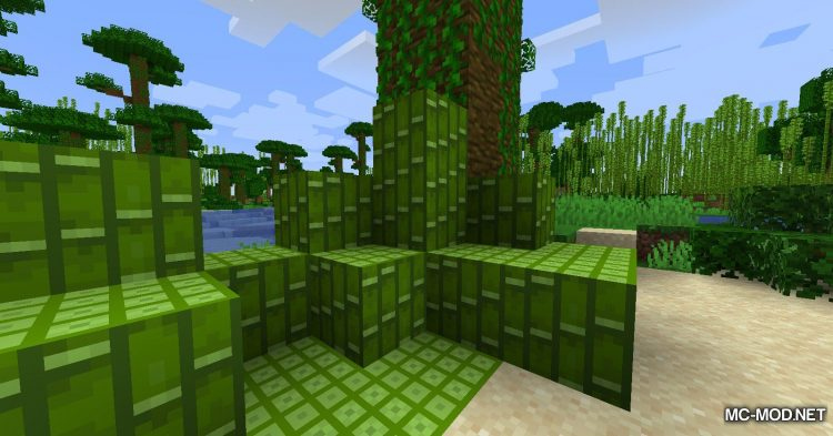 BetterBamboo mod for Minecraft (14)