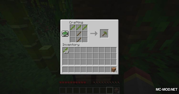 BetterBamboo mod for Minecraft (6)