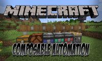 Composable Automation mod for Minecraft logo