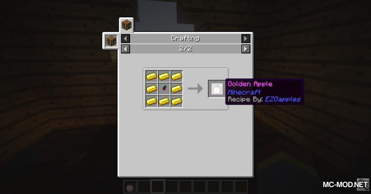 EZGapples mod for Minecraft (10)