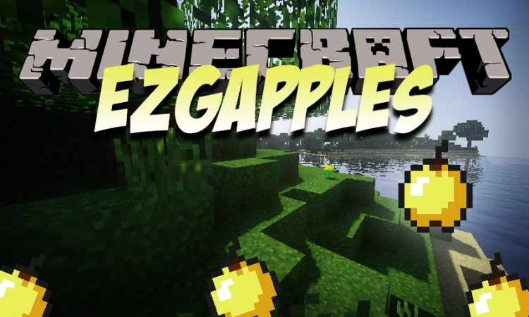 EZGapples mod for Minecraft logo