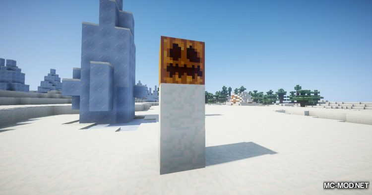 EnhancedSnowman mod for Minecraft (6)