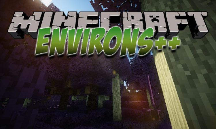 Environs++ mod for Minecraft logo