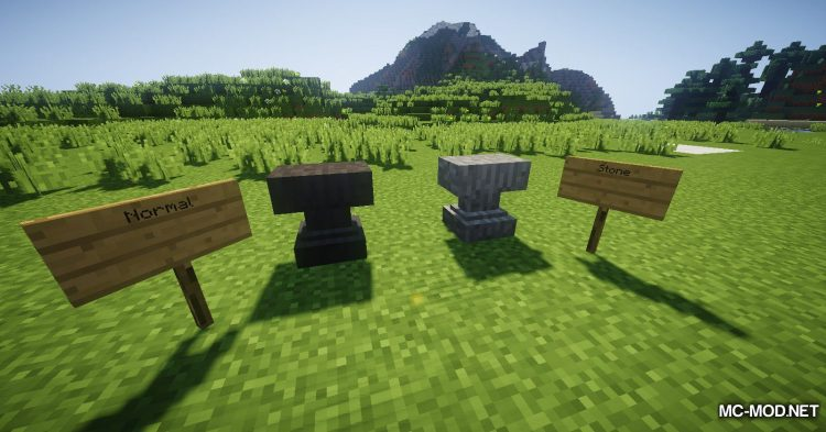 Extra Anvils mod for Minecraft (2)