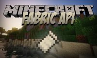Fabric API mod for Minecraft logo