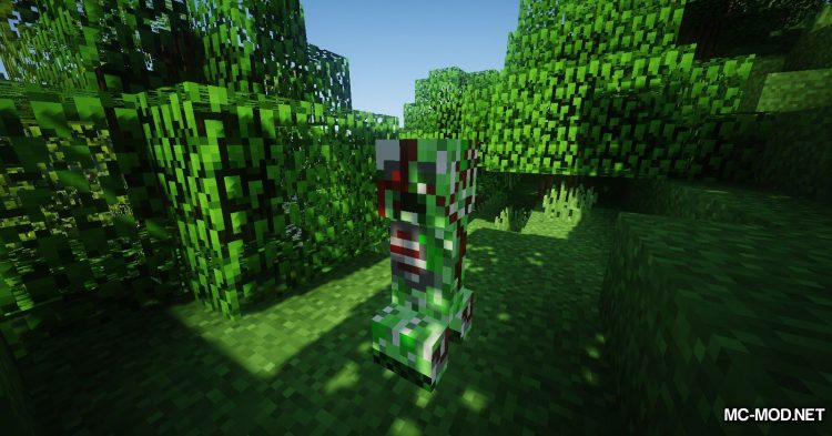 More Creepers mod for Minecraft (10)