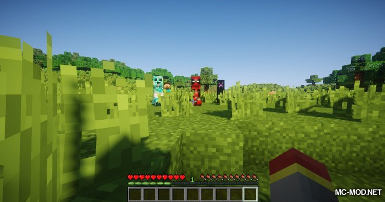 More Creepers mod for Minecraft (11)