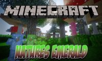 Natures Emerald mod for Minecraft logo