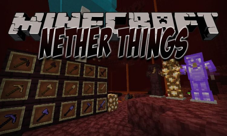 Nether Things mod for Minecraft logo