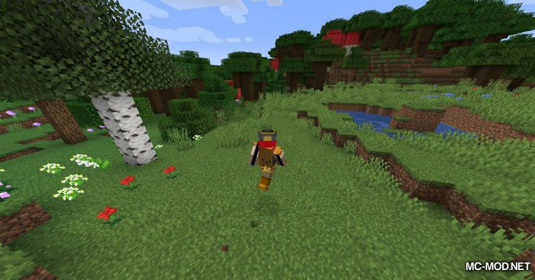 Press To Walk mod for Minecraft (4)