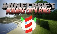Scalable Cat_s Force mod for Minecraft logo