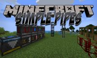 Simple Pipes mod for Minecraft logo