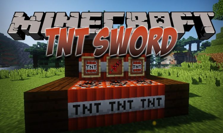 TNT Sword mod for MInecraft logo