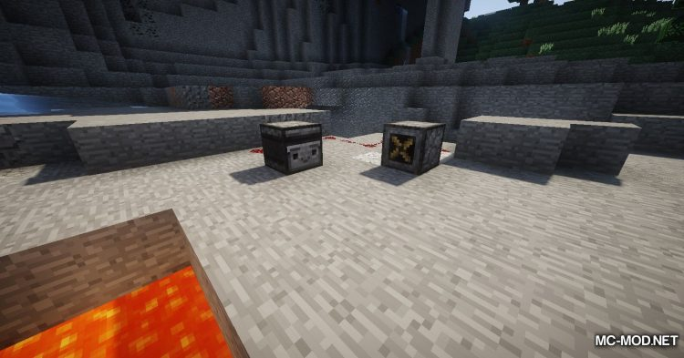 Trap Expansion mod for Minecraft (19)