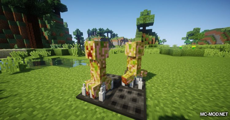 Trap Expansion mod for Minecraft (6)