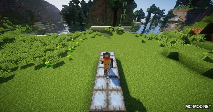 Trap Expansion mod for Minecraft (9)