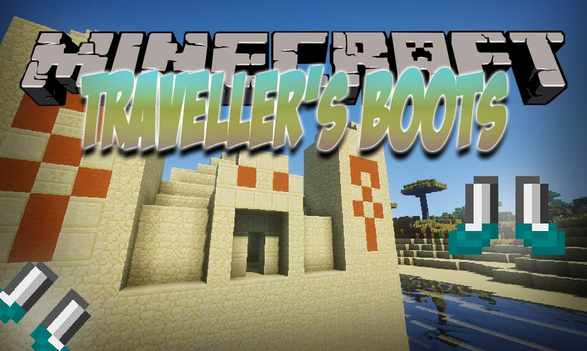 Traveller_s Boots mod for Minecraft logo