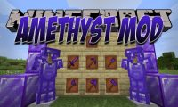 Amethyst Mod mod for Minecraft logo