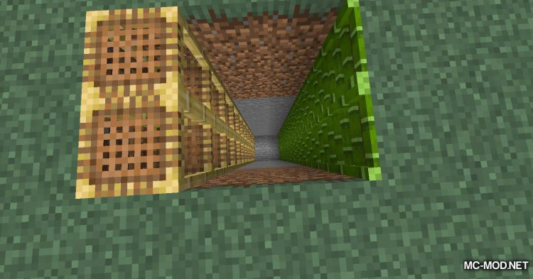 Bamboo Ladders mod for Minecraft (13)