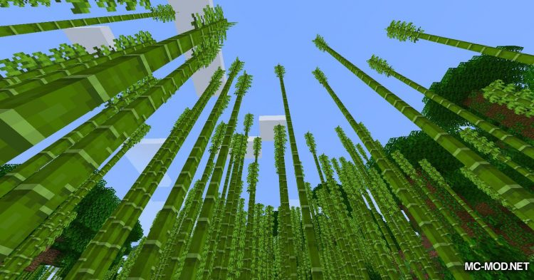 Bamboo Ladders mod for Minecraft (5)