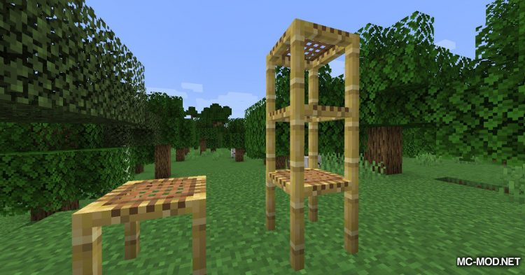 Bamboo Ladders mod for Minecraft (9)