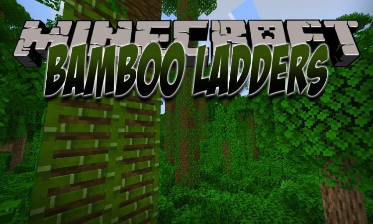 Bamboo Ladders mod for Minecraft logo
