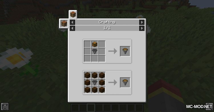Chest Hoppers mod for Minecraft (5)