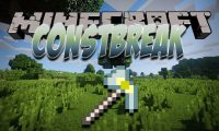 ConstBreak mod for Minecraft logo
