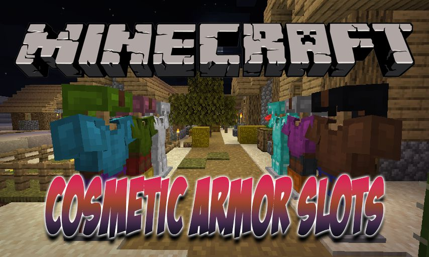 Cosmetic Armor Slots mod for Minecraft logo