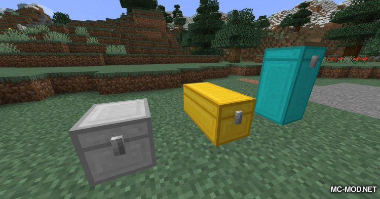 Cursed Chests mod for Minecraft (13)