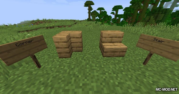 Extra Pieces mod for Minecraft (16)