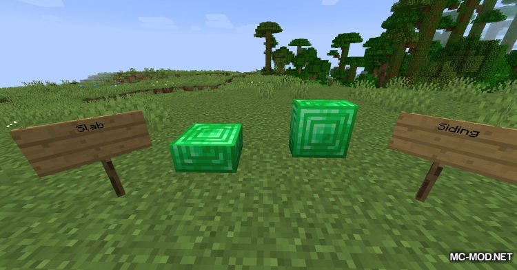 Extra Pieces mod for Minecraft (17)