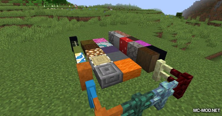 Extra Pieces mod for Minecraft (19)