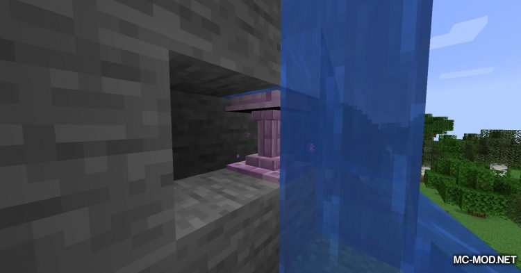 Fancy Fountain Passage mod for Minecraft (4)