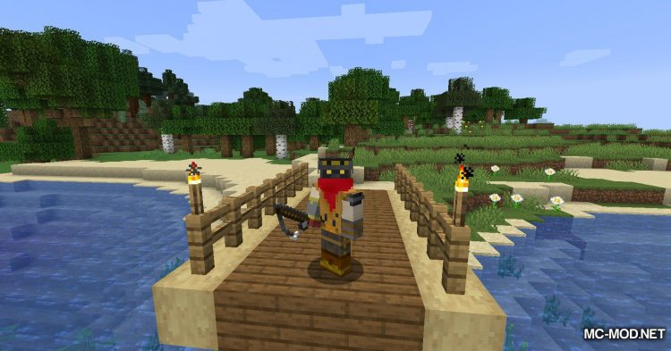 Fish Traps mod for Minecraft (2)