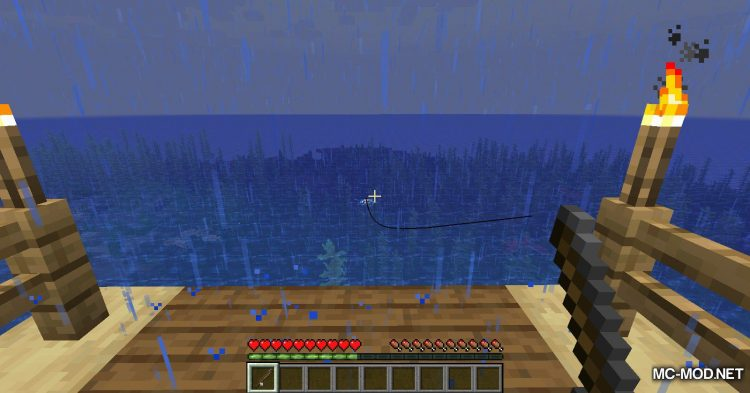 Fish Traps mod for Minecraft (3)