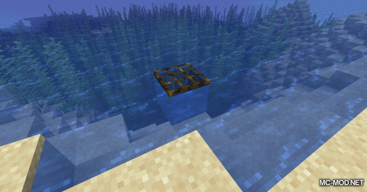 Fish Traps mod for Minecraft (8)