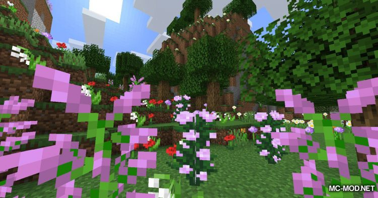 Leaf Decay mod for Minecraft (2)