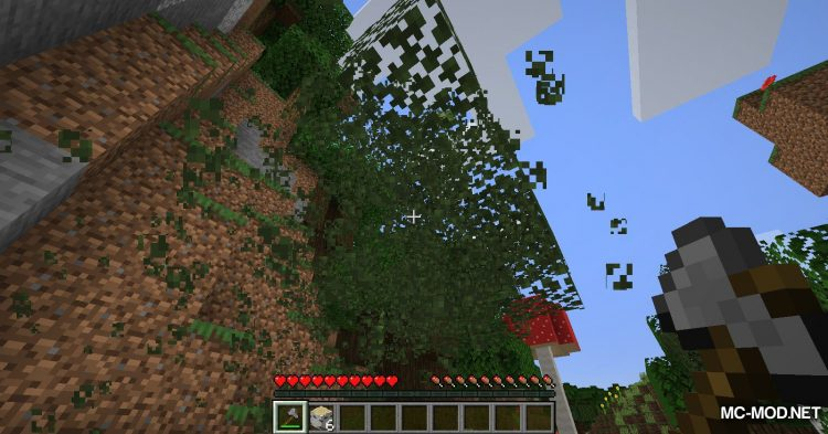 Leaf Decay mod for Minecraft (7)