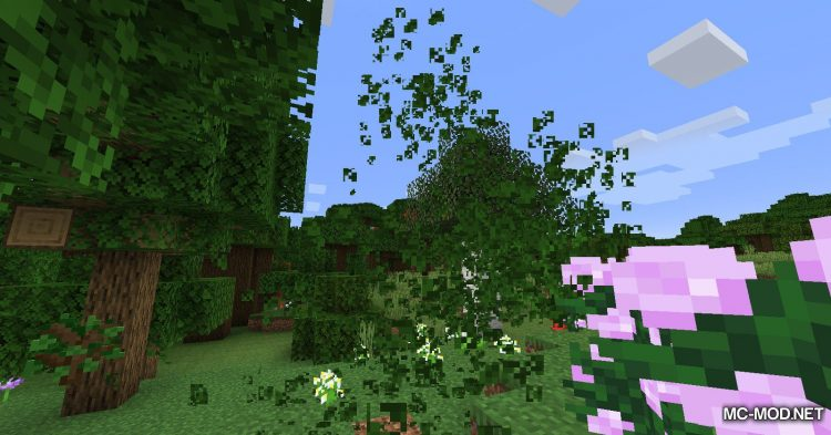Leaf Decay mod for Minecraft (9)