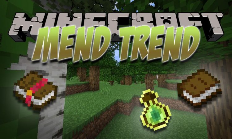 Mend Trend mod for Minecraft logo