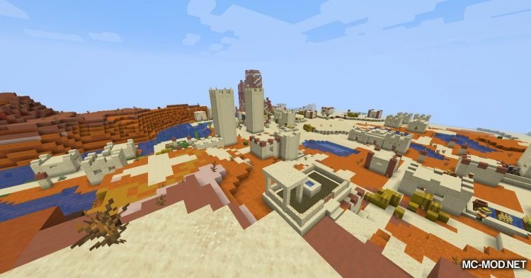 Over Populated mod for Minecraft (10)
