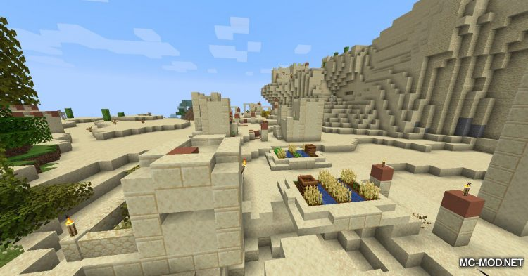 Over Populated mod for Minecraft (6)